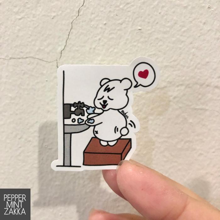 Wash your hands original sticker