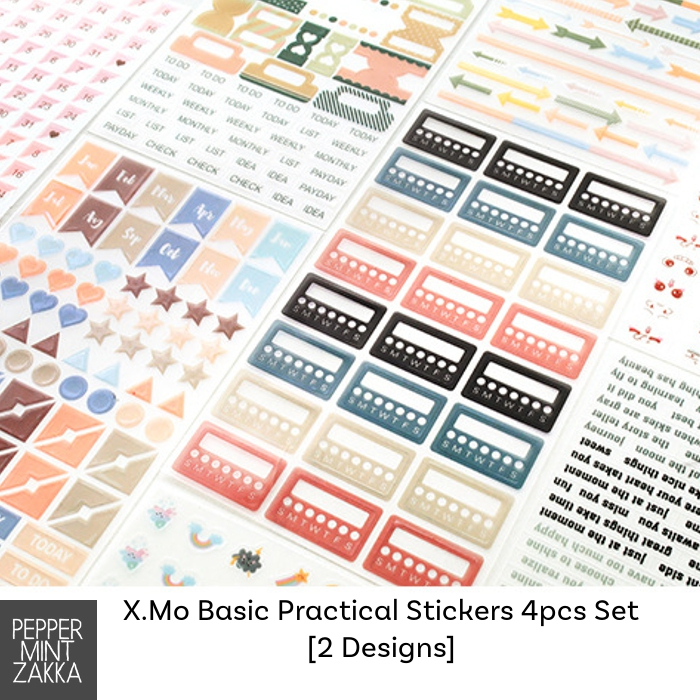X.Mo Basic Practical Stickers
