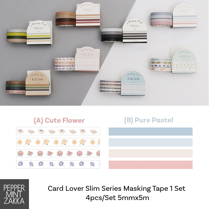Card Lover Slim Series Masking Tape