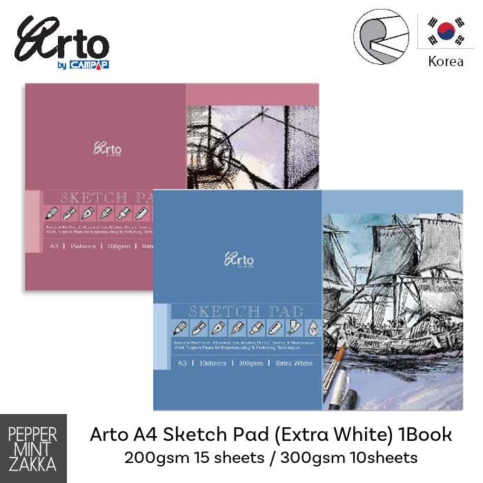 Arto A4 Sketch Pad