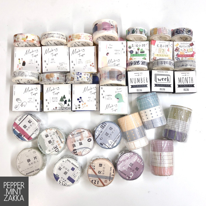 PeppermintZakka Washi Masking Tape Festival - Bundle