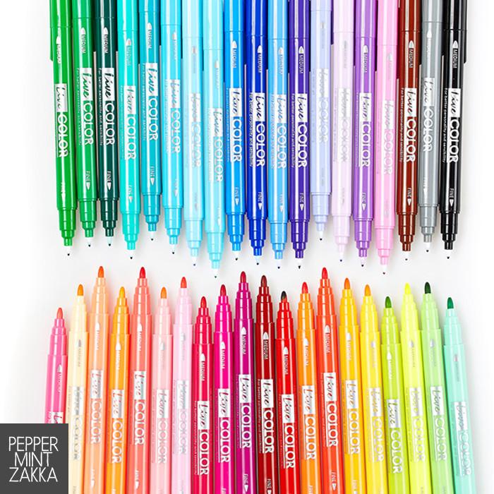 Monami Live Color Twin Liner Marker Pen