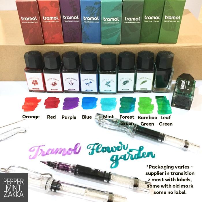 Tramol Flower Garden Fountain Pen Ink