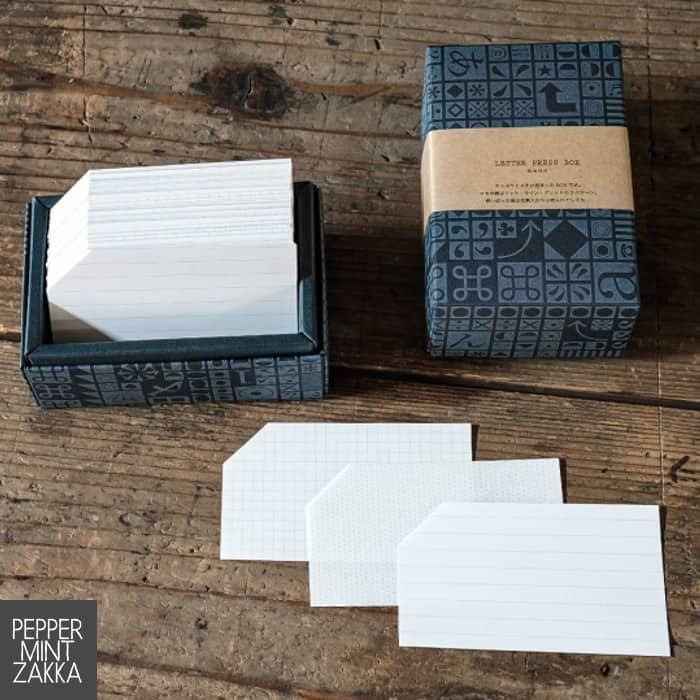 Yamazoe Printing Letter Press Box - Memo